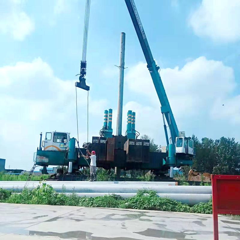 淮安管桩施工——灌南星河湾